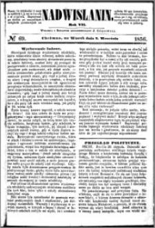 Nadwiślanin, 1856.09.02 R. 7 nr 69