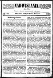 Nadwiślanin, 1856.09.05 R. 7 nr 70