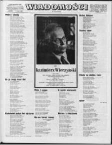 Wiadomości, R. 24 nr 9 (1196), 1969