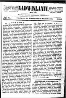 Nadwiślanin, 1856.10.14 R. 7 nr 81