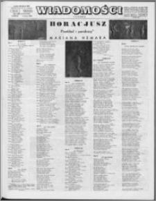 Wiadomości, R. 24 nr 10 (1197), 1969