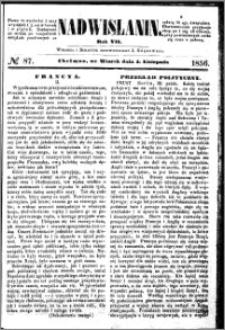Nadwiślanin, 1856.11.04 R. 7 nr 87