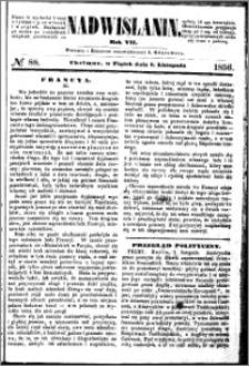 Nadwiślanin, 1856.11.07 R. 7 nr 88