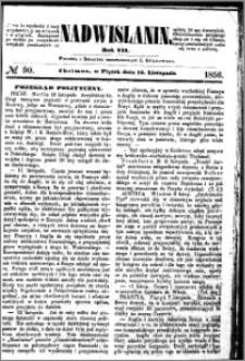 Nadwiślanin, 1856.11.14 R. 7 nr 90