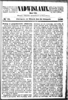 Nadwiślanin, 1856.11.18 R. 7 nr 91