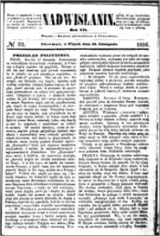 Nadwiślanin, 1856.11.21 R. 7 nr 92