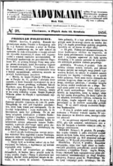 Nadwiślanin, 1856.12.12 R. 7 nr 98