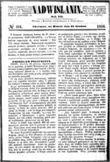 Nadwiślanin, 1856.12.23 R. 7 nr 101