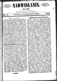 Nadwiślanin, 1857.02.17 R. 8 nr 14