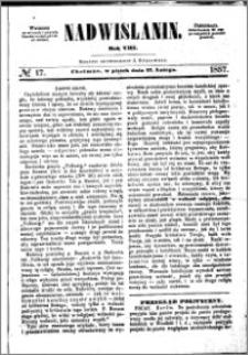 Nadwiślanin, 1857.02.27 R. 8 nr 17