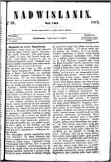 Nadwiślanin, 1857.08.07 R. 8 nr 61
