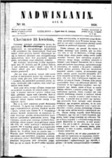 Nadwiślanin, 1858.04.23 R. 9 nr 30