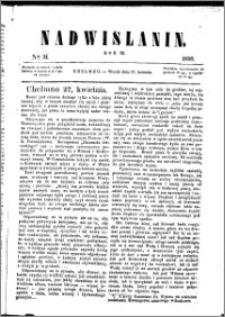 Nadwiślanin, 1858.04.27 R. 9 nr 31