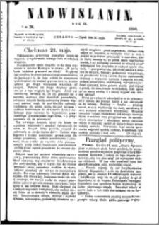 Nadwiślanin, 1858.05.21 R. 9 nr 38