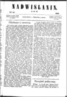 Nadwiślanin, 1858.06.01 R. 9 nr 40