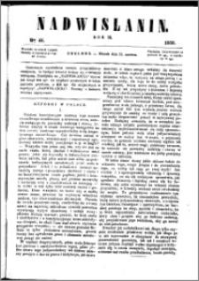 Nadwiślanin, 1858.06.22 R. 9 nr 46