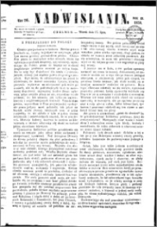 Nadwiślanin, 1858.07.27 R. 9 nr 56