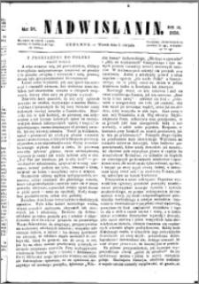 Nadwiślanin, 1858.08.03 R. 9 nr 58