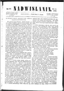 Nadwiślanin, 1858.08.10 R. 9 nr 60