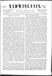 Nadwiślanin, 1858.08.13 R. 9 nr 61