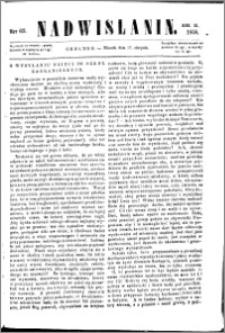 Nadwiślanin, 1858.08.17 R. 9 nr 62