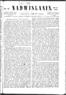 Nadwiślanin, 1858.09.03 R. 9 nr 67
