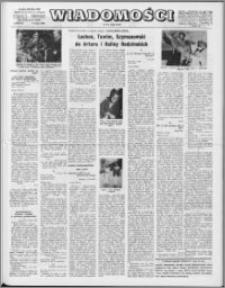 Wiadomości, R. 24 nr 19 (1206), 1969