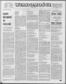 Wiadomości, R. 24 nr 20 (1207), 1969