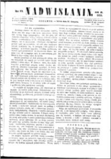 Nadwiślanin, 1858.11.20 R. 9 nr 89