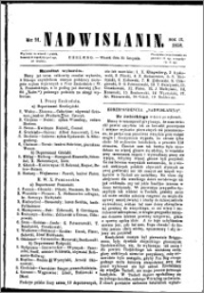 Nadwiślanin, 1858.11.30 R. 9 nr 91