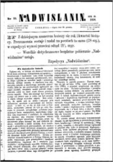 Nadwiślanin, 1858.12.31 R. 9 nr 99