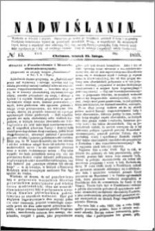 Nadwiślanin, 1859.02.15 R. 10 nr 13