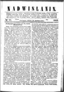 Nadwiślanin, 1859.10.21 R. 10 nr 83
