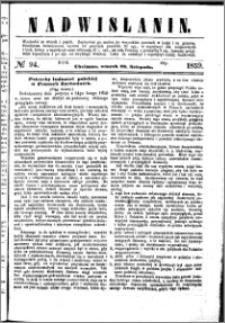 Nadwiślanin, 1859.11.29 R. 10 nr 94