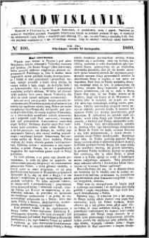 Nadwiślanin, 1860.11.21 R. 11 nr 100