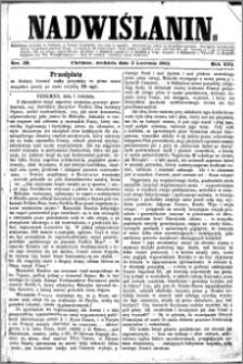 Nadwiślanin, 1865.04.02 R. 16 nr 39