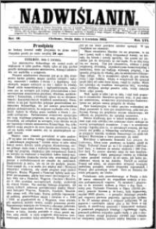 Nadwiślanin, 1865.04.05 R. 16 nr 40