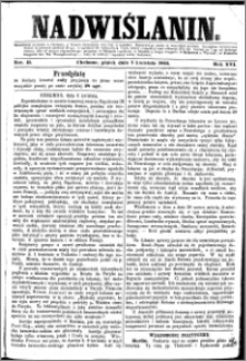 Nadwiślanin, 1865.04.07 R. 16 nr 41