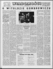 Wiadomości, R. 24 nr 39 (1226), 1969