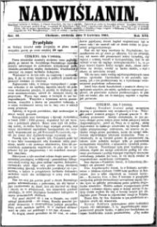 Nadwiślanin, 1865.04.09 R. 16 nr 42