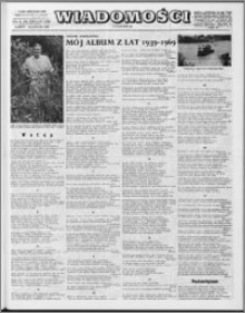 Wiadomości, R. 24 nr 41 (1228), 1969