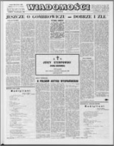 Wiadomości, R. 24 nr 43 (1230), 1969
