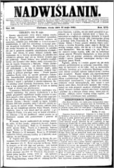 Nadwiślanin, 1865.05.31 R. 16 nr 62