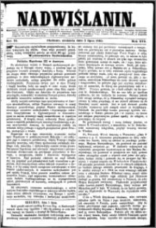 Nadwiślanin, 1865.07.02 R. 16 nr 74