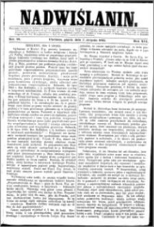 Nadwiślanin, 1865.08.05 R. 16 nr 88