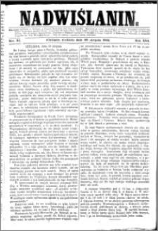 Nadwiślanin, 1865.08.20 R. 16 nr 95