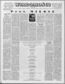 Wiadomości, R. 24 nr 49 (1236), 1969