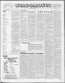 Wiadomości, R. 23 nr 1 (1136), 1968