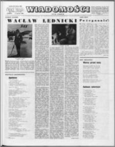 Wiadomości, R. 23 nr 3 (1138), 1968