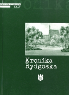Kronika Bydgoska T. 24 (2002)
